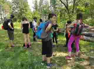 Žáci na exkurzi
