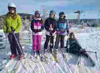 Žáci na horách